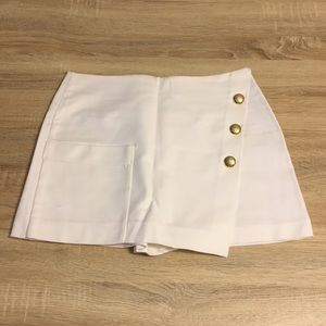 NWOT Zara Nautical Skorts